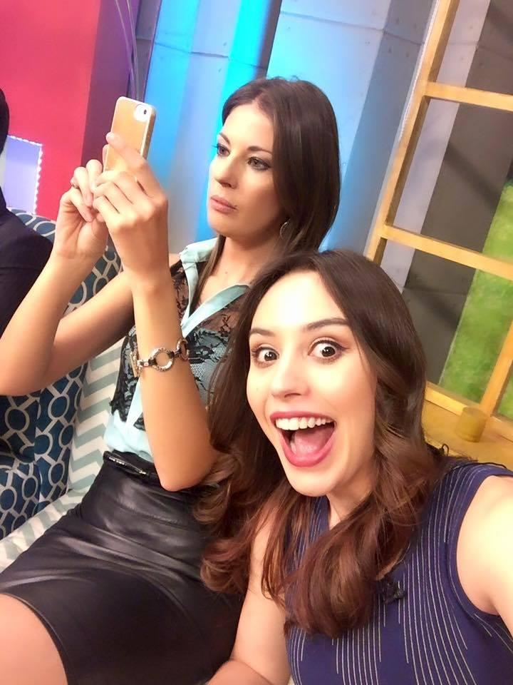 Claudia Arce y Maywa Jauregui