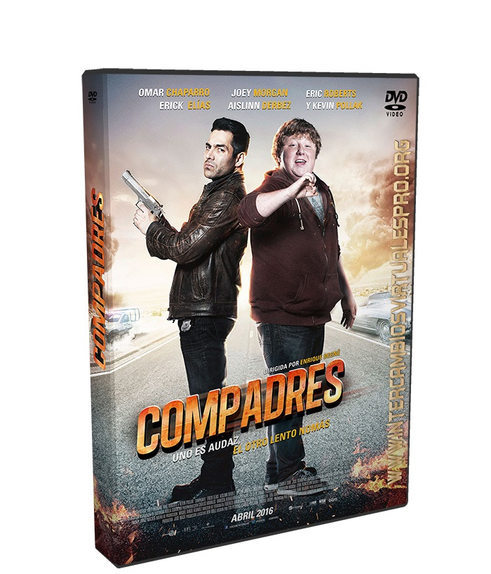 Compadres poster box cover