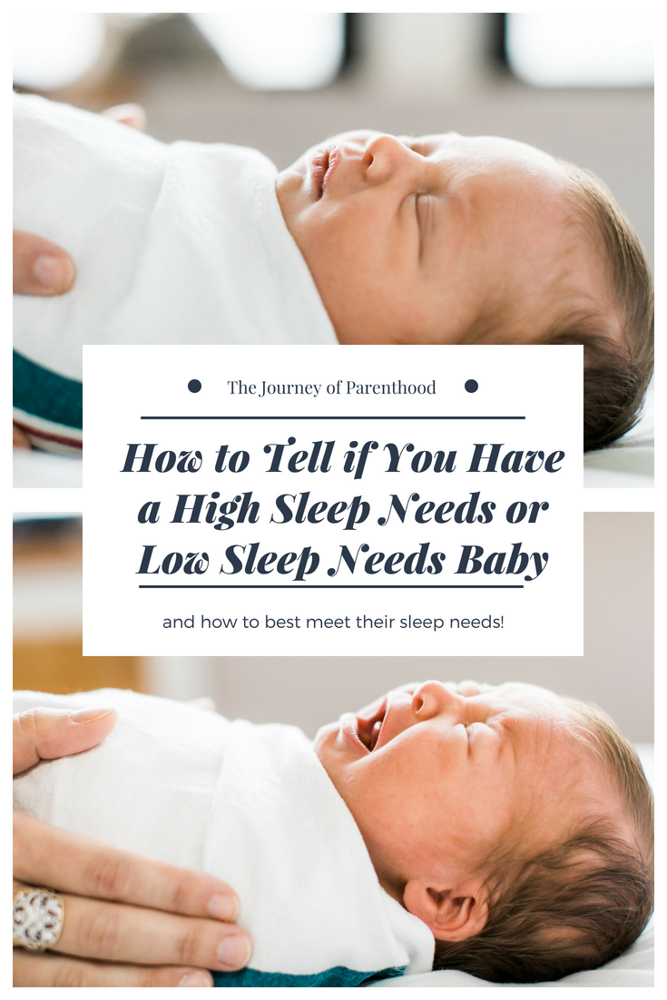 How to Tell If You Have a High Sleep Needs or Low Sleep Needs Baby