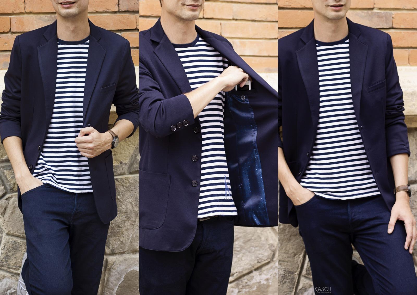 tailoring: men's blazer