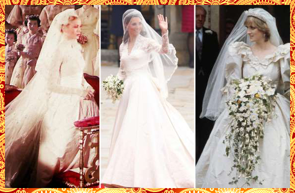 Royal Adorable Wedding Dresses Through The Years (Royal Adorable Wedding Dress)