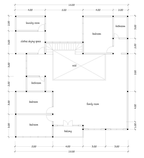 House with floor area of 300 square meters - 02