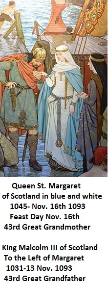 Queen St. Margaret and King Malcolm III