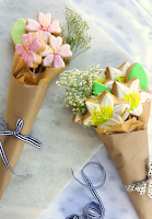 Sugar Cookie Flower Bouques