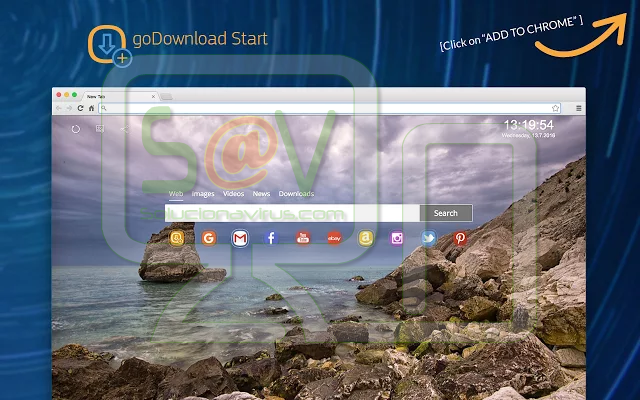 """GoDownload Start"" (Extensión)"