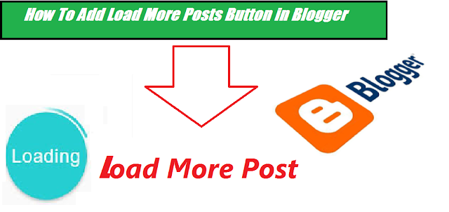 How To Add Load More Posts Button in Blogger