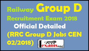 Update Railway Group D Recruitment Exam 2018