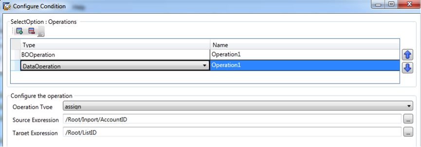 Simple And move the Inport parameter to our BO element
