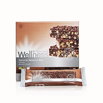 Μπάρες Πρωτεϊνών Σοκολάτα Wellness Natural Balance
