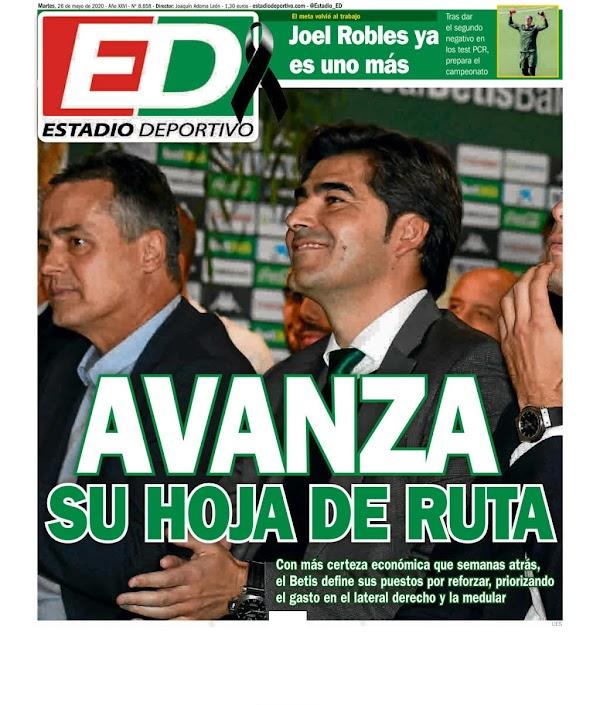"""Betis, Estadio Deportivo: """"Avanza su hoja de ruta"""""""