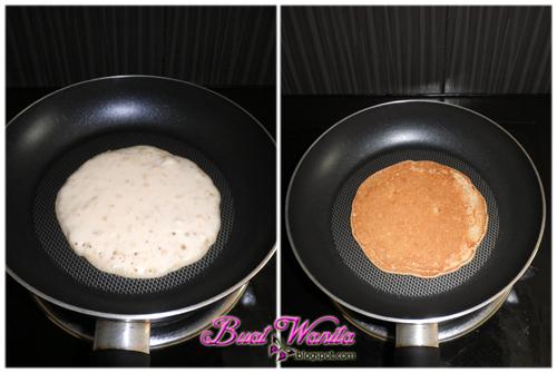 Resepi Pancake Coklat Rice
