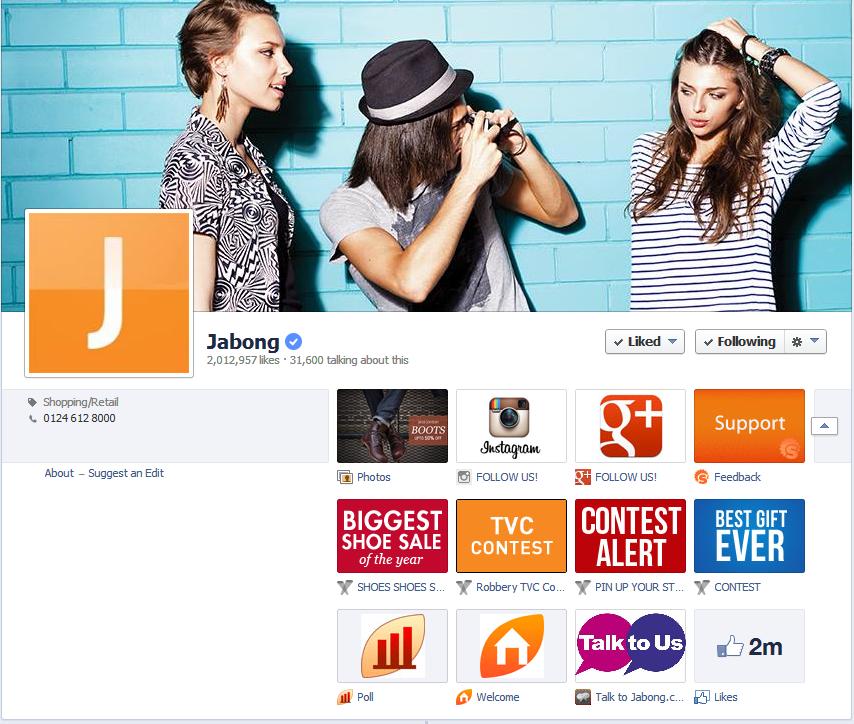 Facebook Tabs India 2014