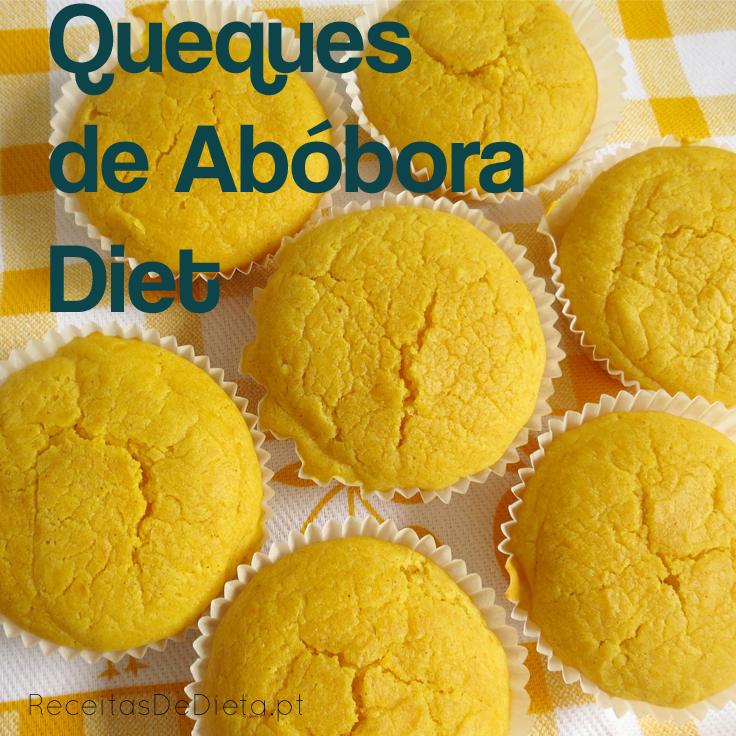 Queques de Abóbora Diet