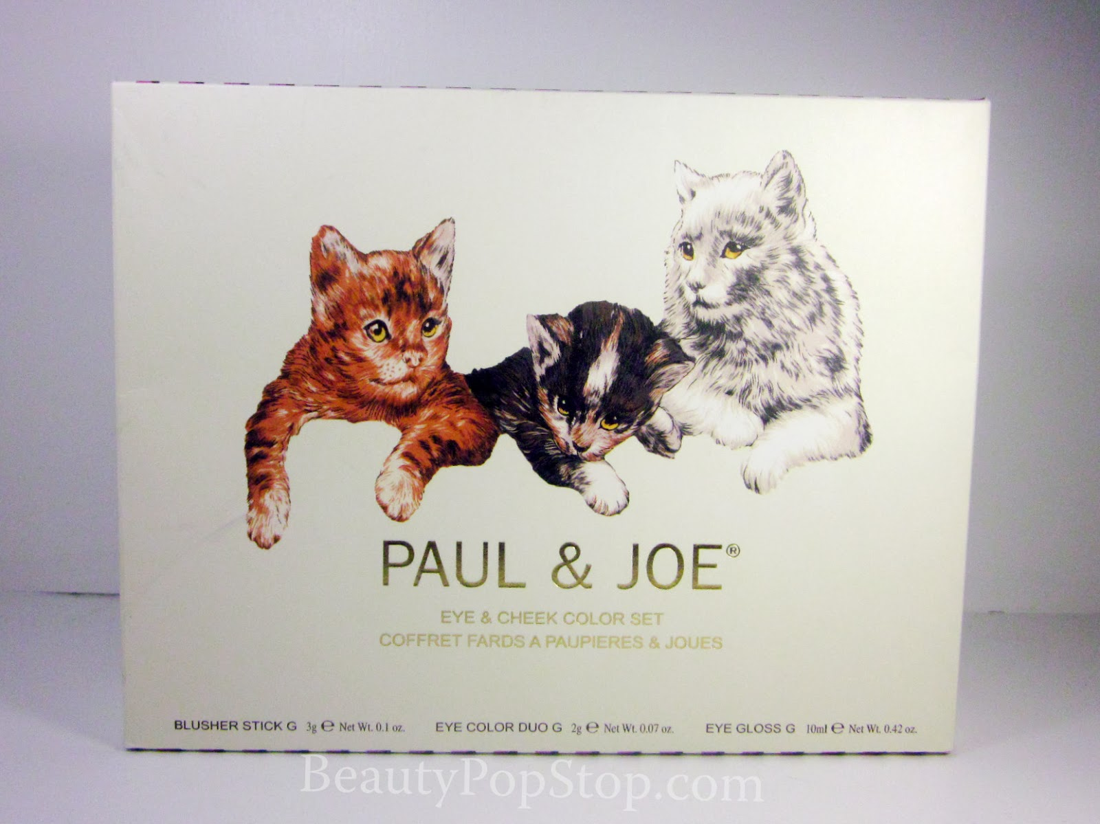 beautypopstop limited edition holiday 2013 paul and joe beaute cat eye and cheek color set in. Black Bedroom Furniture Sets. Home Design Ideas