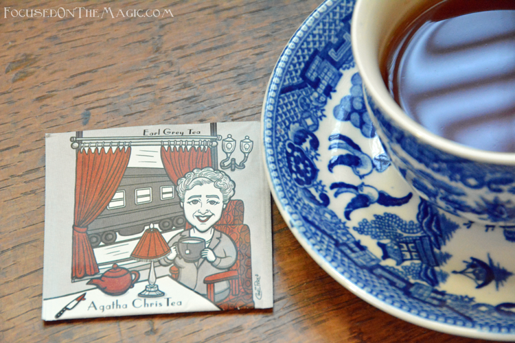 Agatha Chris Tea which is an Earl Grey Tea