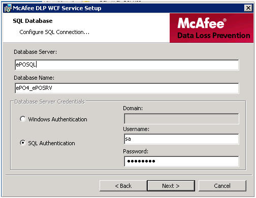 McAfee host DLP step by step installation and configuration in ePO