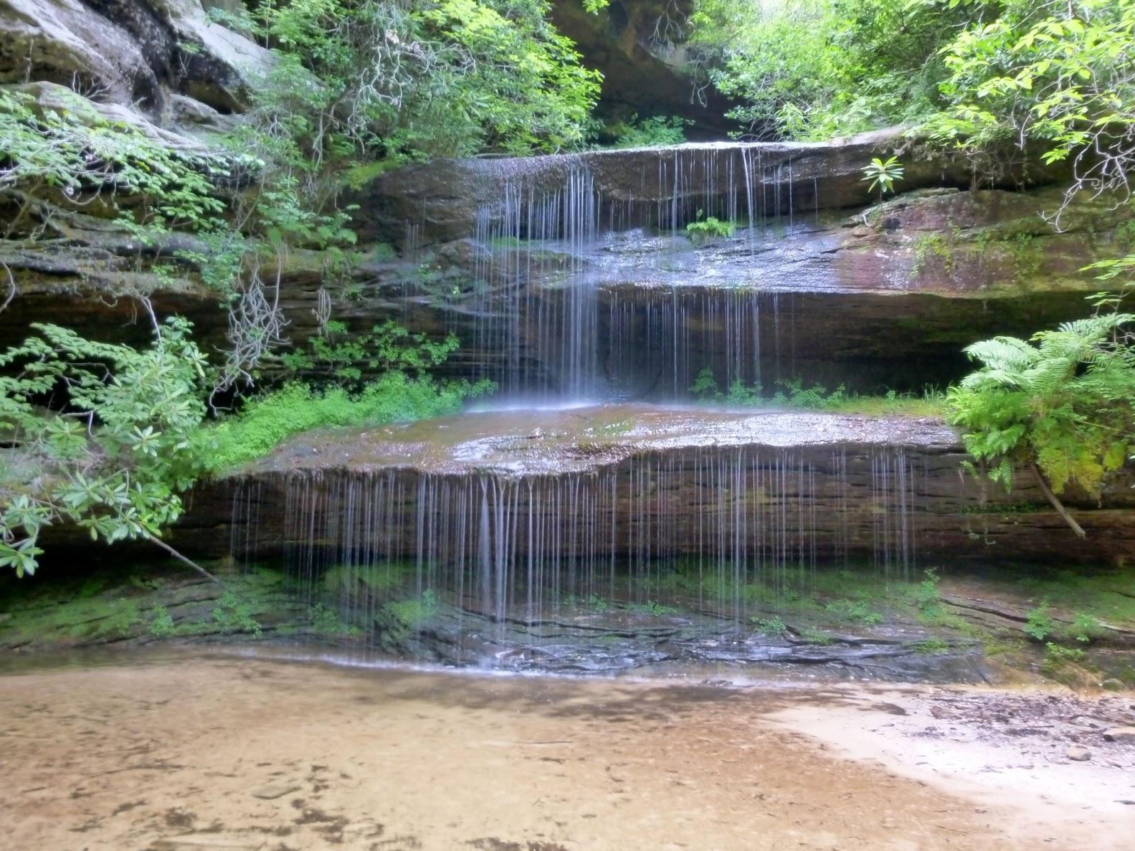 American Travel Journal Hidden Passage Crystal Falls