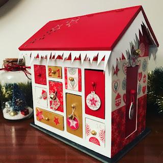 maison en bois calendrier de l avent