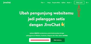 Daftar dan Pasang Live Chat Gratis di Blog