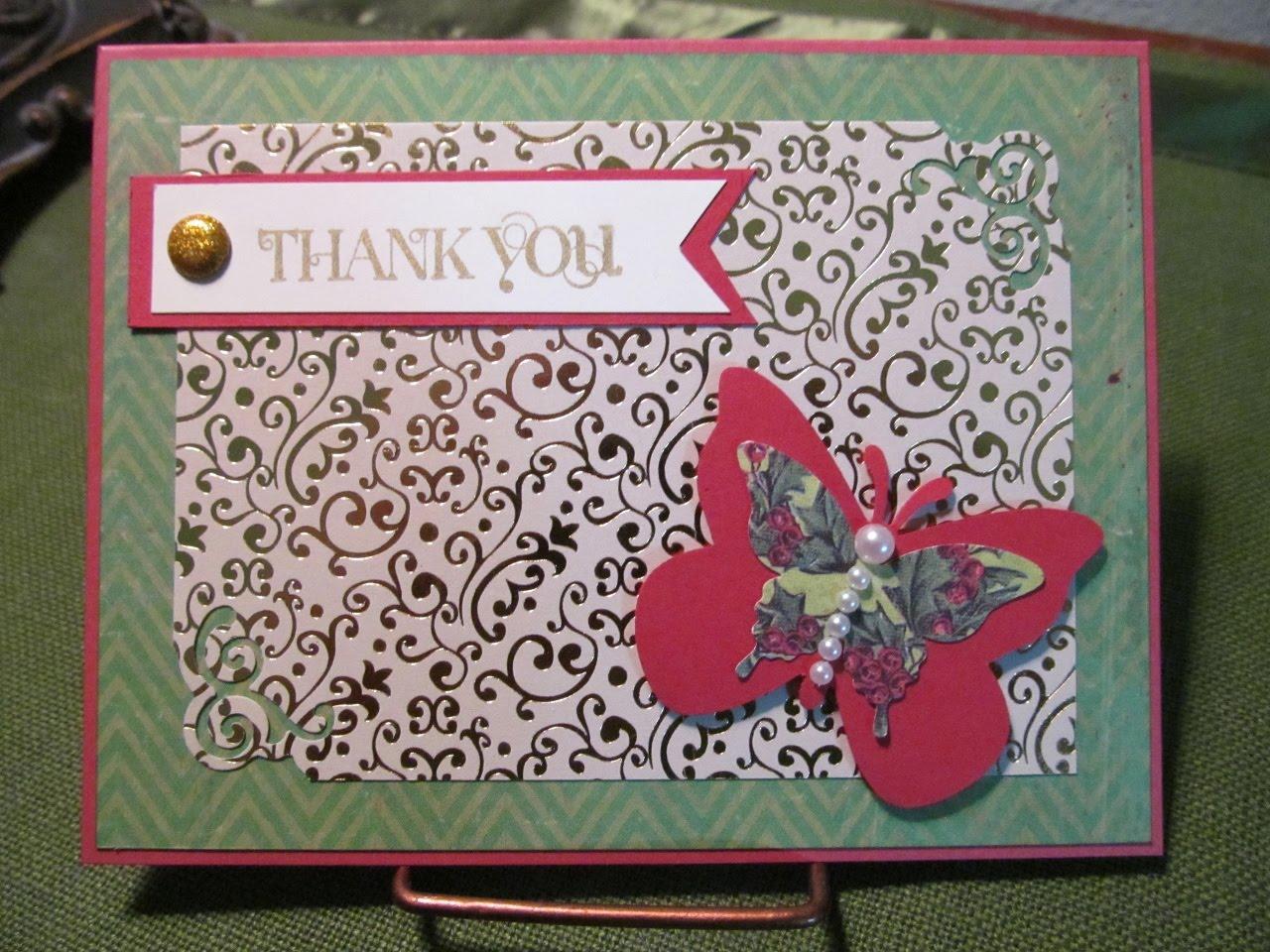 savvy handmade cards after christmas thank you card