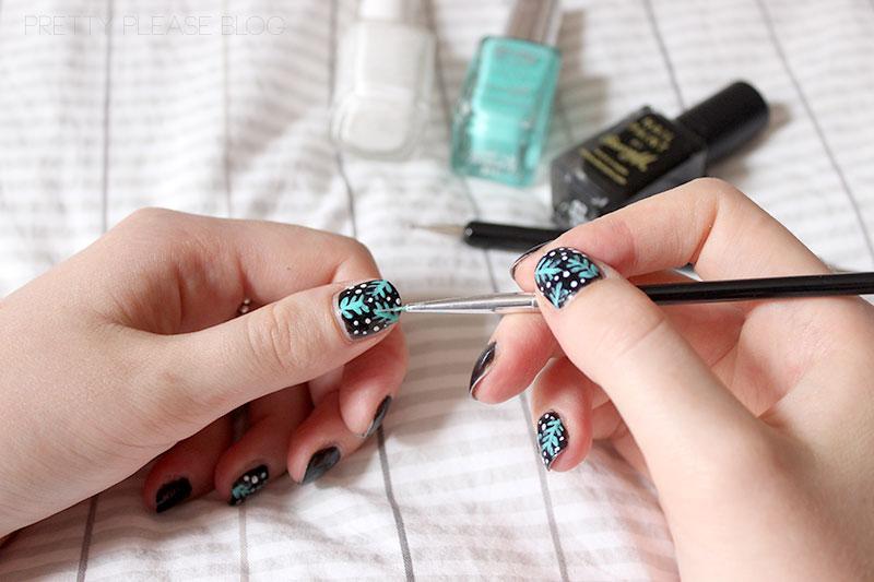 Pretty Please: How To // Jungle Nail Art