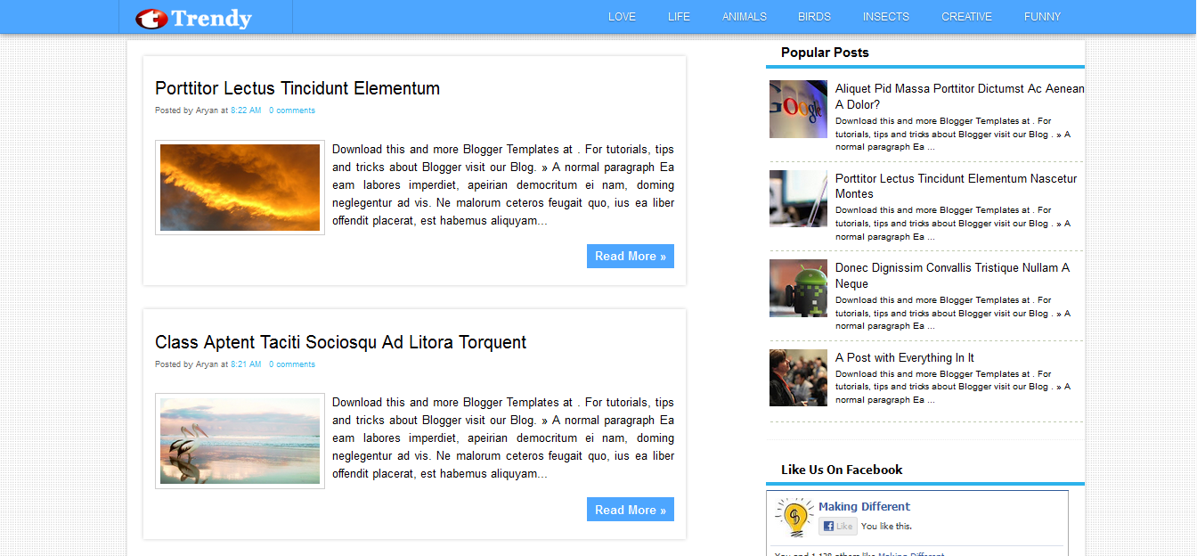 Seo optimized free blogger templates 2014 responsive for How to create blogspot template