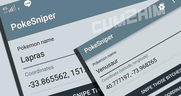 Tutorial Cara menggunakan Pokesniper di android
