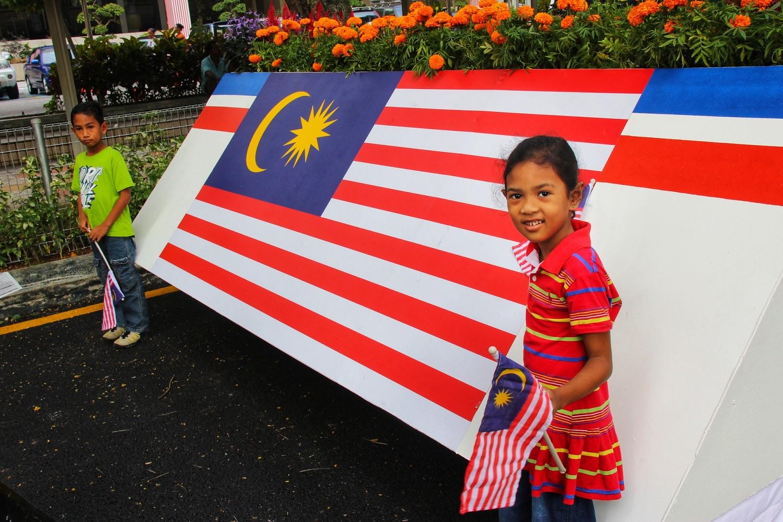 Sambutan Hari Kemerdekaan Bersama Keluarga di Dataran Merdeka 2