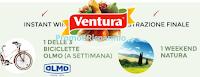Logo Concorso ''100% Ventura 100% Natura'' : vinci subito 39 bici Olmo e 1 weekend nel verde