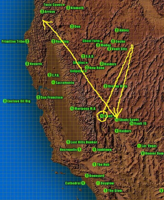 National Geographic 2: The Blog: Fallout 2's Auger Quest