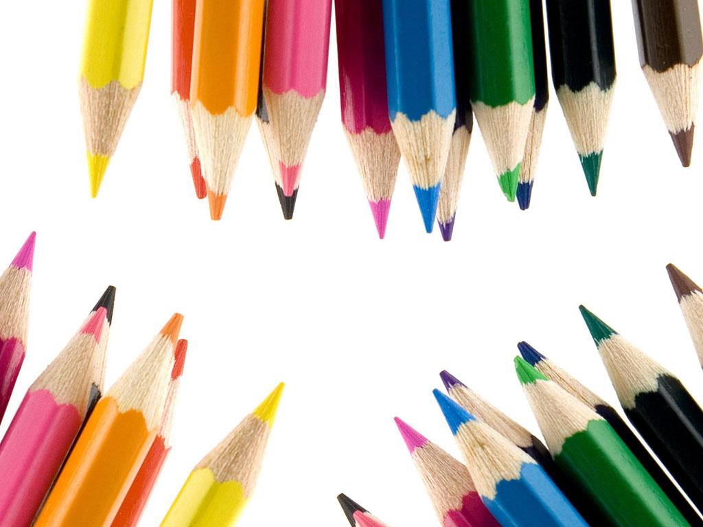 GambarGambar Pensil Warna Cantik