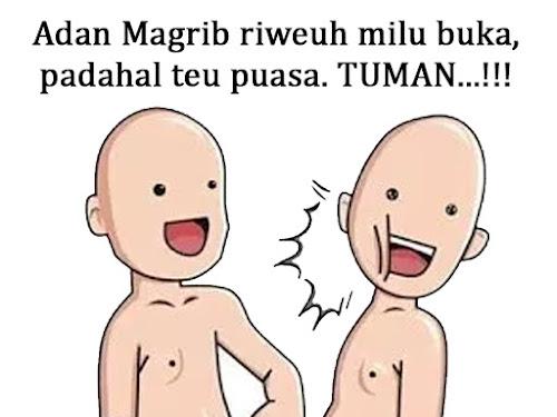 Meme Tuman Puasa