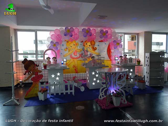 Decoração festa de 1 ano - Aniversário infantil tema Bailarina