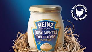 Prueba Mayonesa Heinz Realmente deliciosa