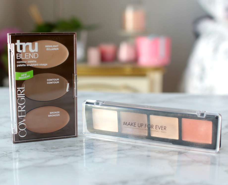 Dupe Or Not Covergirl Contour Palette Vs Mufe Pro