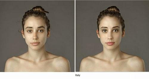 hasil photoshop wanita italy