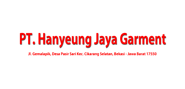 Lowongan Kerja PT. Hanyeung Jaya Garment