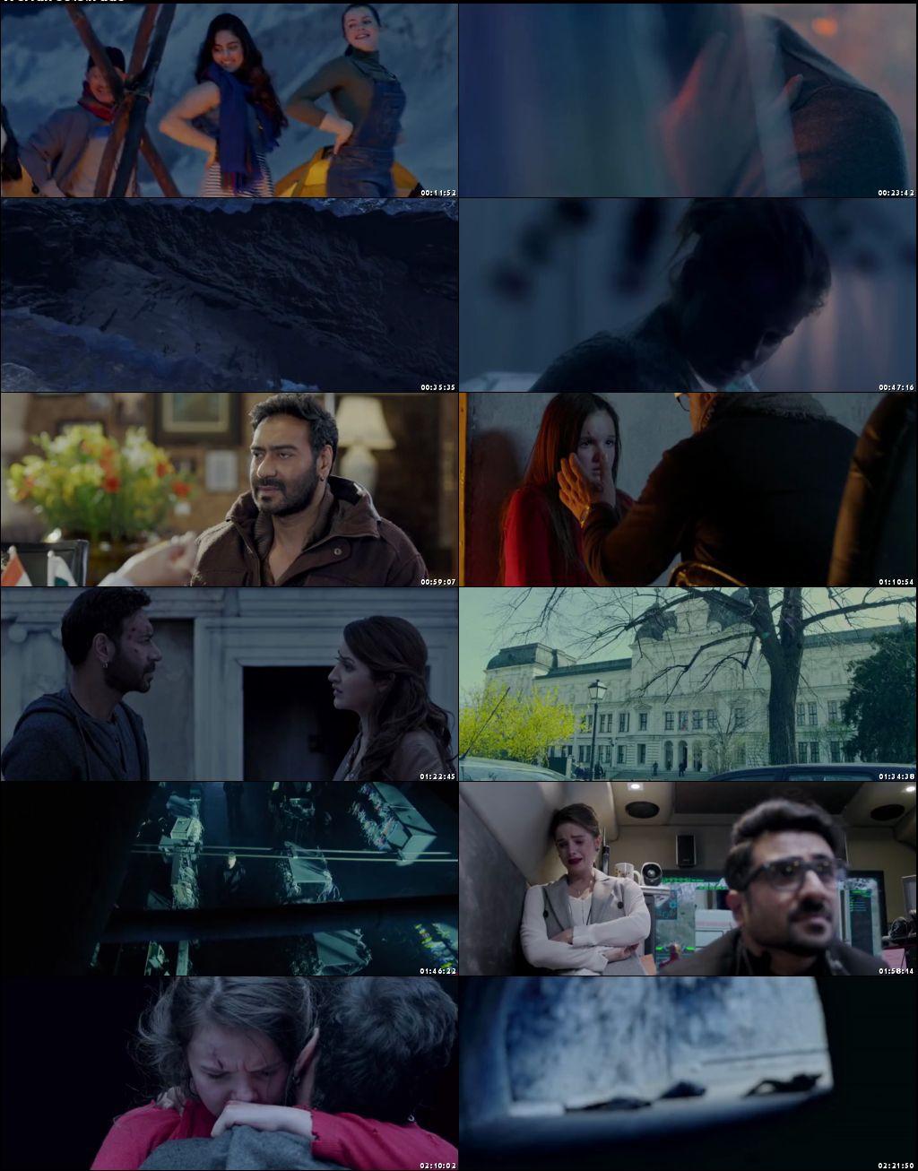 Screen Shots Shivaay 2016 Full Hindi Movie Download 700MB HD x264