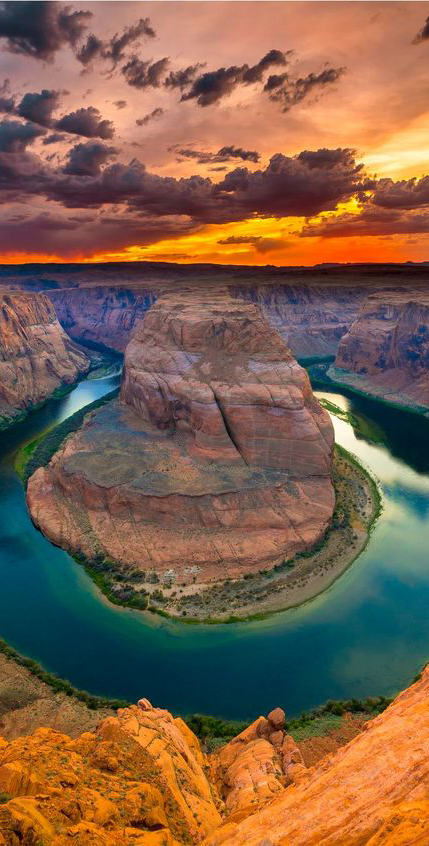 Horseshoe Bend near Page, Arizona and 50+ Secret Places in America That Most Tourists Don't Know About