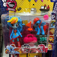 Fake MLP Equestria Girls Minis Rainbow Dash Figure