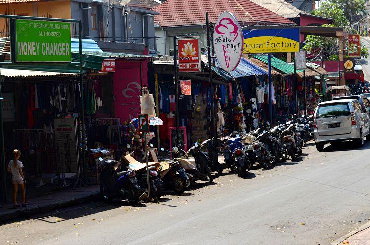 Bali, Bali Street Ubud, Indonesia