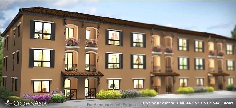 Valenza Mansions - Three Bedroom Family Suite| Crown Asia Prime Condominium for Sale in Sta. Rosa Laguna