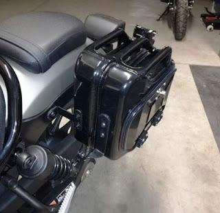 koper samping motor Honda Rebel CMX 500 Baru