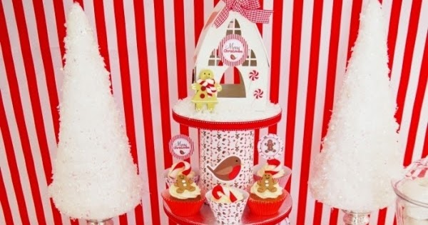Christmas Candyland Backdrop.Christmas Candyland Party Ideas Desserts Table Party