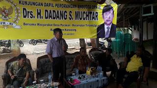 Susah Kerja, Sejumlah Warga Karawang Minta Bantuan DPR RI Agar Disampaikan Presiden Jokowi