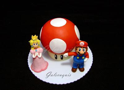 Tarta champiñón de Super Mario