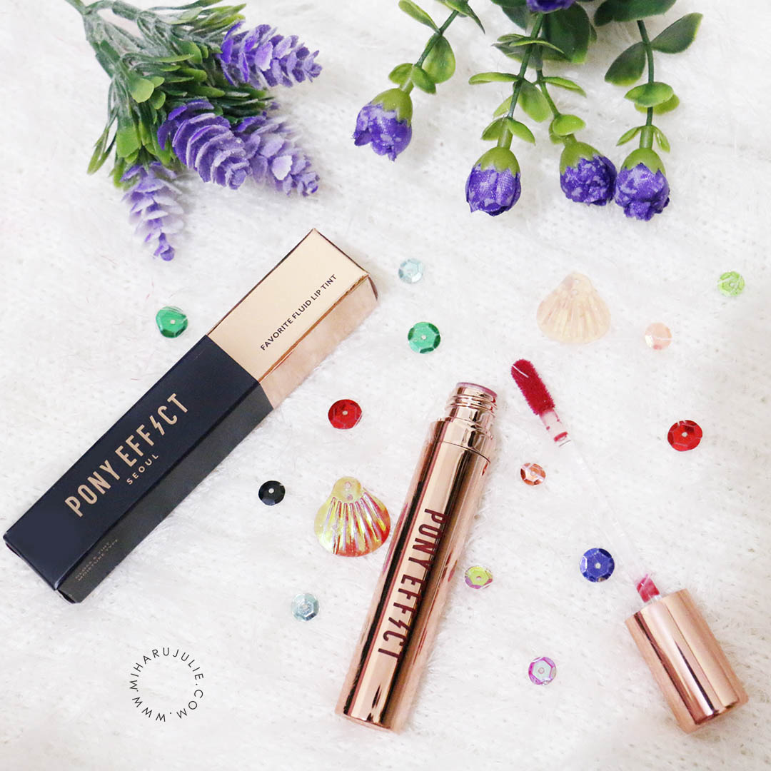 Pony Effect Favorite Fluid Lip Tint Review Indonesia