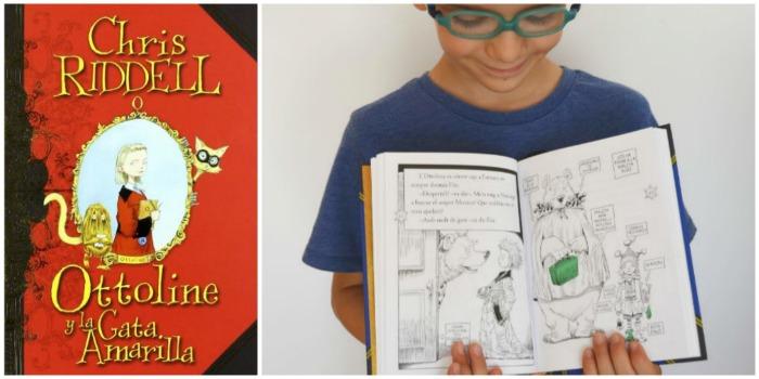 mejores cuentos niños 5 a 8 años, ottoline chris riddell