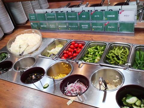 ビュッフェコーナー:サラダ2 ステーキガスト一宮尾西店2回目