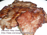 Oven Dried Beef Tapa